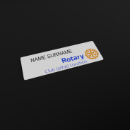Rotary namebadge